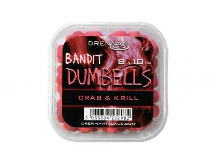 Drennan nástrahy Bandit Dumbells 8  10 mm Crab  Krill  + Sleva 10% za registraci
