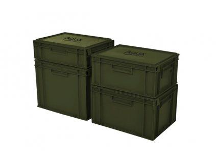 Aqua Products Staxx box - Uzavíratelný stohovatelný box  + Sleva 10% za registraci + ZDARMA kaprové háčky