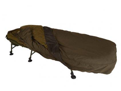 Lehátko + spací pytel Solar - SP C-TECH Sleep System wide  + Sleva 10% za registraci + ZDARMA Spomb zakrmovací raketa Midi