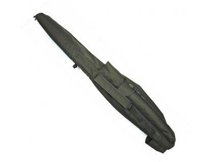 Pouzdro polstrované na 5 prutů 12ft - Trakker NXG 5 ROD PADDED SLEEVE  + ZDARMA Zfish teflonové háčky Wide Gape
