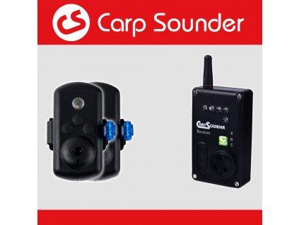 Carpsounder Sumcový hlásič - Catsounder XRS SET 2+1  + Sleva 10% za registraci