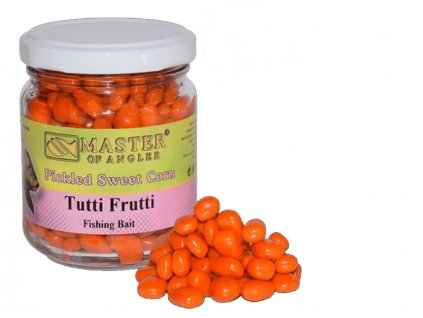 Master of Angler Kukuřice Pickled Sweet Corn - 212 ml/Tutti-Frutti  + Sleva 10% za registraci