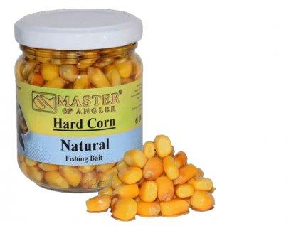 Master of Angler Kukuřice Hard Corn Bait - 212 ml/Karamel  + Sleva 10% za registraci