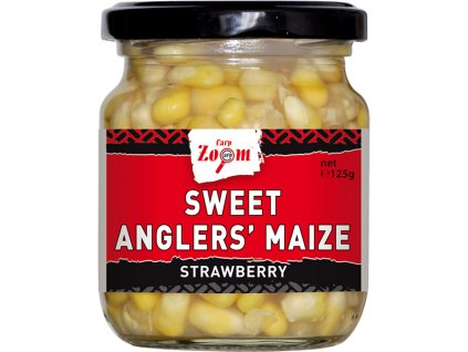 Carp Zoom Sweet Angler's Maize - 125 g/125 g/Jahoda  + Sleva 10% za registraci
