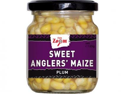 Carp Zoom Sweet Angler's Maize - 125 g/125 g/Švestka  + Sleva 10% za registraci