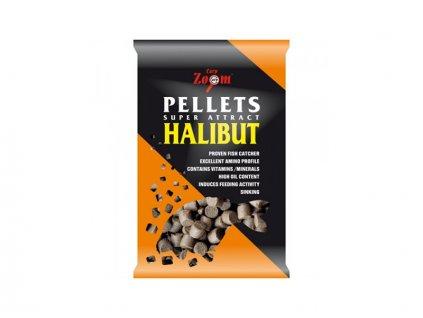 Carp Zoom Feeding Halibut Pellets - 800 g/4,5 mm/Halibut  + Sleva 10% za registraci