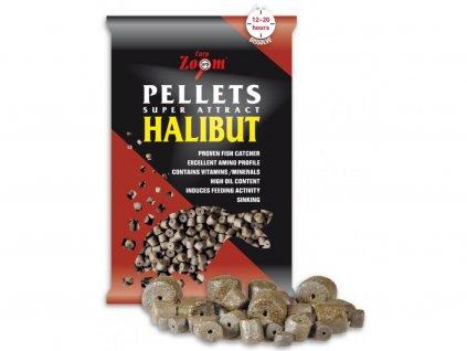 Halibut Pellets - s otvorem - 800 g/15 mm/Halibut