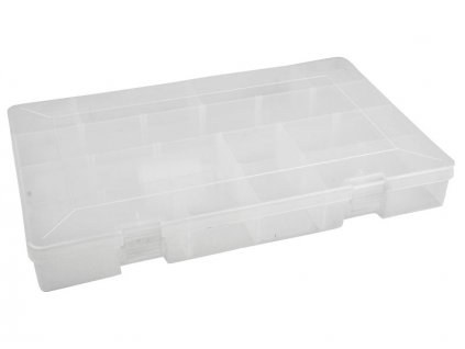 Krabice plastová 35,8x23,5x5 cm