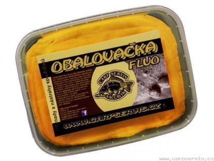 Carp Servis Václavík Fluo obalovačka - 150 g/Oliheň  + Sleva 10% za registraci