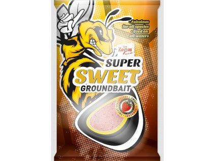 Super Sweet Groundbaits - 1 kg/Sladká vanilka
