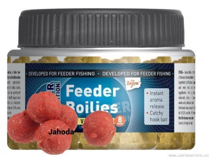 Feeder Boilies - 85 g/8 mm/Ryba - Halibut