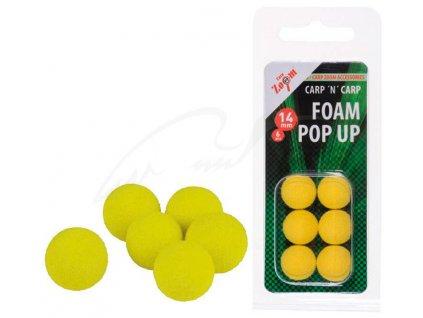 Carp Zoom Pěnové plovoucí kuličky/10 mm/žluté  + Sleva 10% za registraci