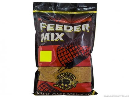 Feeder Mix - 1 kg/Žlutý kapr (žlutá)  + Sleva 10% za registraci