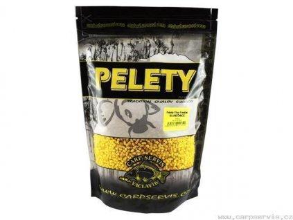 Pelety Fluo Feeder - 700 g/Slunečnice  + Sleva 10% za registraci