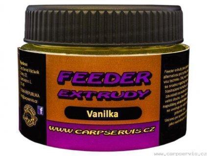 Carp Servis Václavík Feeder extrudy - 30 g/vanilka  + Sleva 10% za registraci
