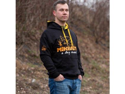 Mikbaits oblečení - Mikina Fans team černá  + Sleva 10% za registraci