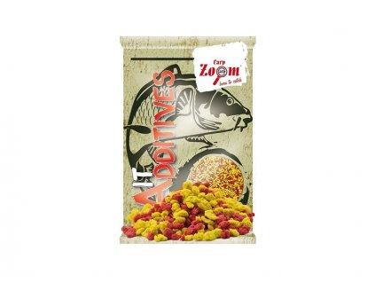 Carp Zoom Bait Additive Crumbs (anglická vločka) - 800 g/žlutá, červená  + Sleva 10% za registraci
