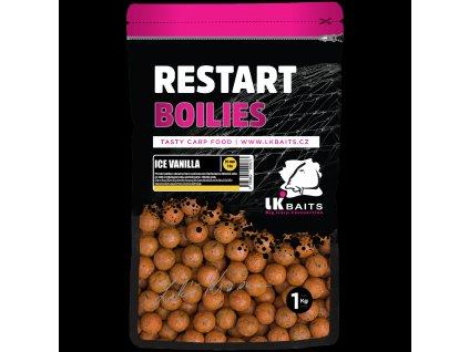 LK Baits ReStart Boilies Ice Vanilla  + Sleva 10% za registraci