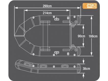 Fox 290 Inflatable Boat  + Sleva 10% za registraci