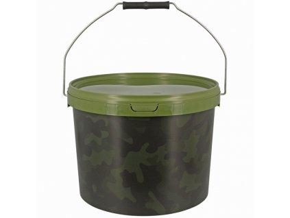 NGT Kbelík Medium Camo Bucket 10L  + Sleva 10% za registraci