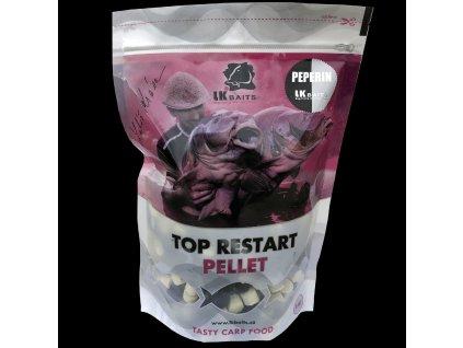 LK Baits Top ReStart Pellets Peperin  + Sleva 10% za registraci