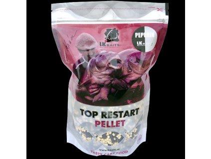 LK Baits Top ReStart Pellets Peperin 1kg, 4mm  + Sleva 10% za registraci