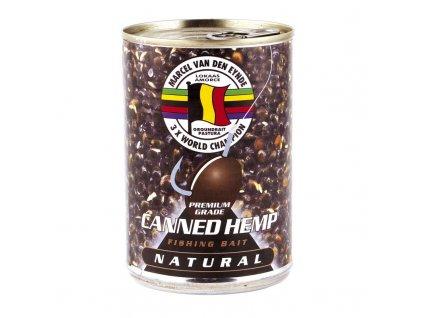 MVDE konopí Canned Hemp Natural 395g  + Sleva 10% za registraci
