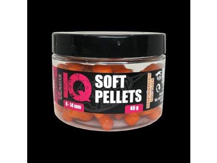 LK Baits IQ Method Feeder Soft Pellets Spicy Peach 8 - 14mm 40g  + Sleva 10% za registraci