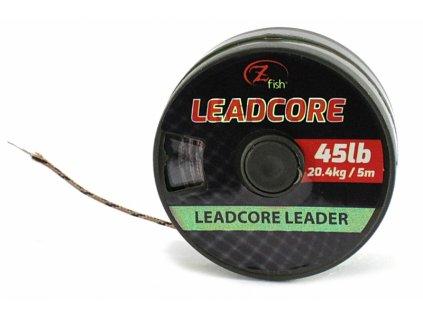 Zfish Olověná Šňůra Leadcore Leader 45lb/5m  + Sleva 10% za registraci