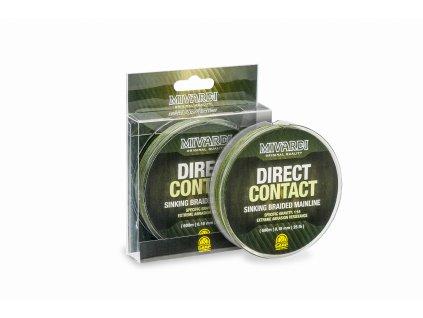 DirectContact Sinking braid 0,18mm    1200m   (25lb)  + Sleva 10% za registraci + ZDARMA kaprové háčky