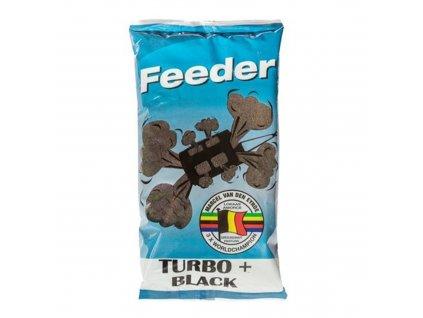MVDE Feeder Turbo+ Black 1kg  + Sleva 10% za registraci