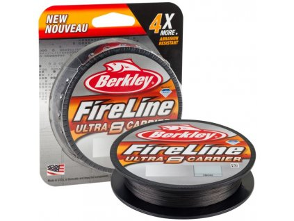 BERKLEY FIRELINE ULTRA 8 SMOKE 150M 0,15MM 8,3KG  + Sleva 10% za registraci
