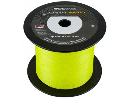 SPIDERWIRE DURA4 YELLOW 1800M 0,40MM 45,0KG