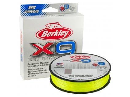 BERKLEY X9 FLAME GREEN 150M 0,17MM 17KG