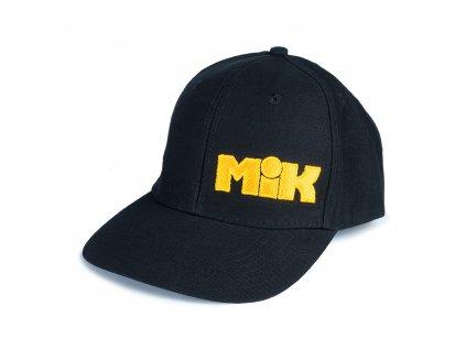 Mikbaits oblečení - Čepice MiK Trucker černá  + Sleva 10% za registraci