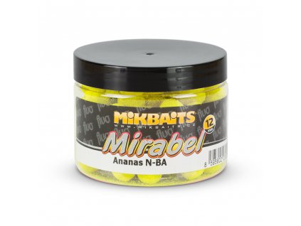 Mikbaits Mirabel Fluo boilie  + Sleva 10% za registraci
