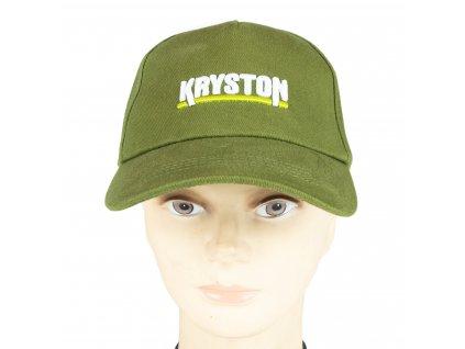 Kryston oblečení - Čepice Base cap zelená  + Sleva 10% za registraci