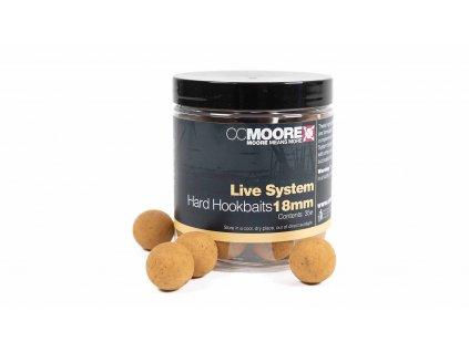 CC Moore Live system - Hard boilie 18mm 35ks  + Sleva 10% za registraci
