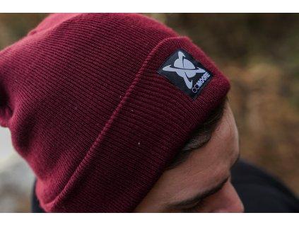 CC Moore oblečení - Zimní čepice Beanie Burgundy  + Sleva 10% za registraci