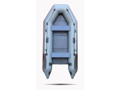 Nafukovací čluny Elling - Forsage 310 s pevnou skládací podlahou, šedý  + Sleva 5% za registraci