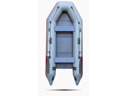 Nafukovací čluny Elling - Forsage 330 s pevnou skládací podlahou, šedý  + Sleva 5% za registraci