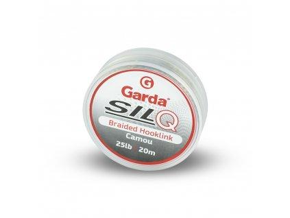 Garda návazcové materiály - SILQ pletený camou 20m 25lb  + Sleva 10% za registraci