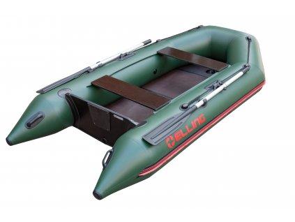 Nafukovací čluny Elling - Patriot 290 s pevnou skládací podlahou, zelený  + Sleva 10% za registraci