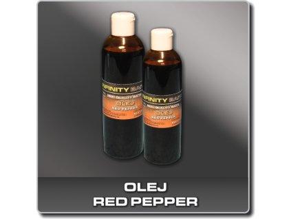 Infinity Baits Red pepper oil - 250 ml  + Sleva 10% za registraci