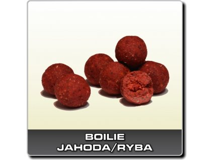 Infinity Baits Boilies Jahoda/ryba  + Sleva 10% za registraci