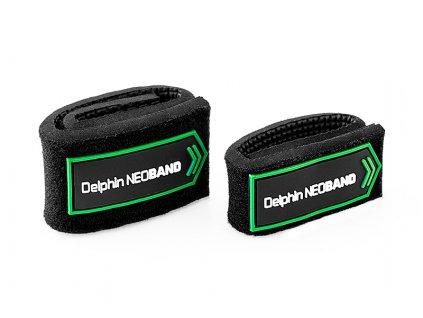 Sťahovací páska na prúty Delphin NEOBAND / 2ks  + Sleva 10% za registraci