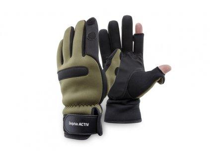 Neoprenový rukavice Delphin ACTIV  + Sleva 10% za registraci