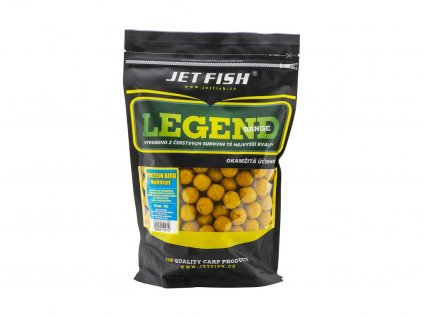 JetFish Legend Range boilie PROTEIN BIRD MULTIFRUIT  + Sleva 10% za registraci