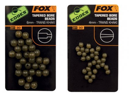 Fox EDGES™ Tapered Bore Beads
