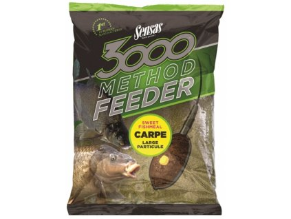 Sensas Krmítková směs 3000 Method Carpe 1kg